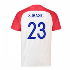Croatia 2018 Home Jersey (Subasic 23)
