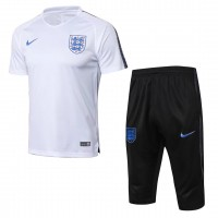 England White Training Soccer Short Tracksuit 2018/19