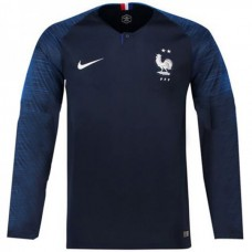 France 2018 Home Long Sleeve Jersey