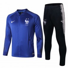 France Blue Training Presentation Soccer Tracksuit 2018/19