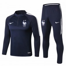 France Navy Training Technical Soccer Tracksuit 2018/19
