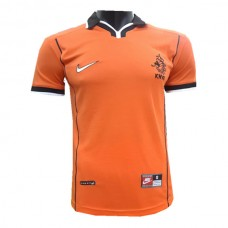 Netherlands National Team Retro Home Jersey 1998