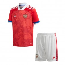 Russia Home Adidas Football Kit 2020 2021 - Kids