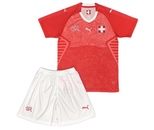 Switzerland 2018 Home Kit Kids