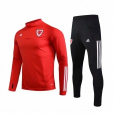 Wales Red Training Soccer Tracksuit 2020