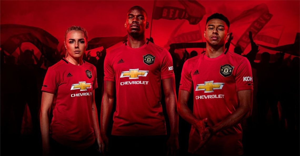 Manchester United 2019 2020 Jersey